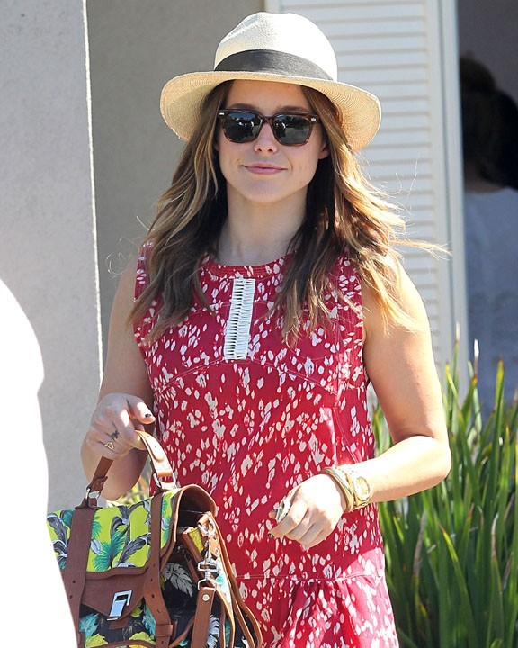 Sophia Bush à Los Angeles le 12 août 2012