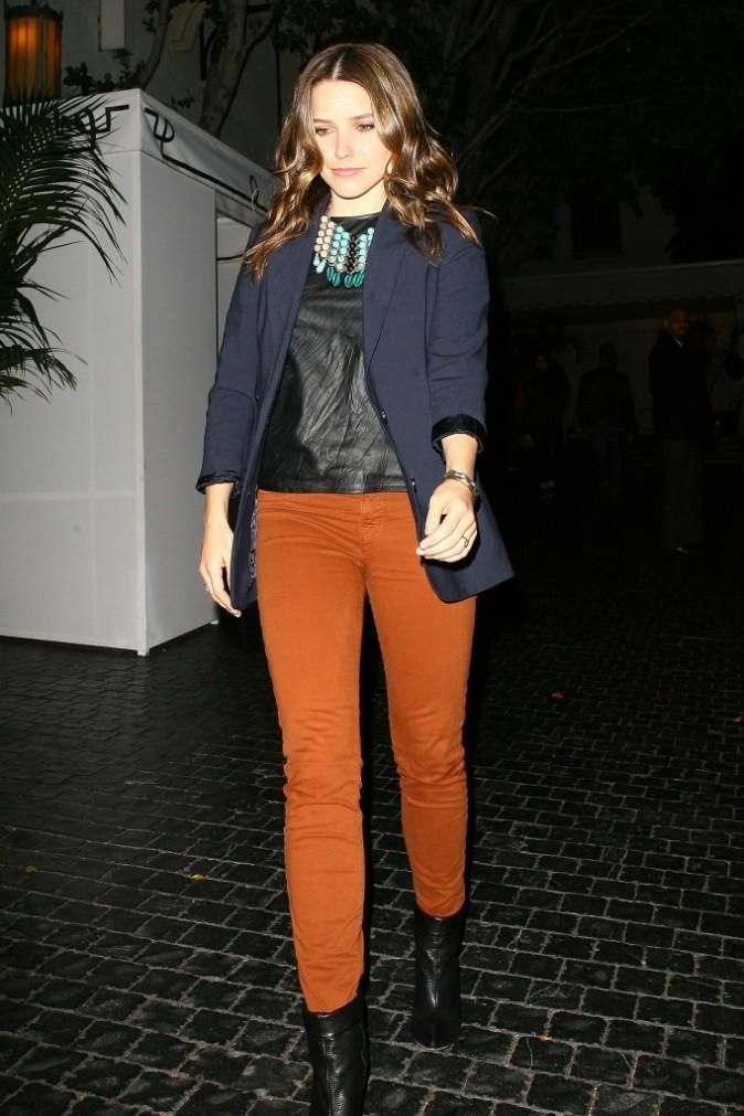 Sophia Bush à West Hollywood, le 1er mars 2012.