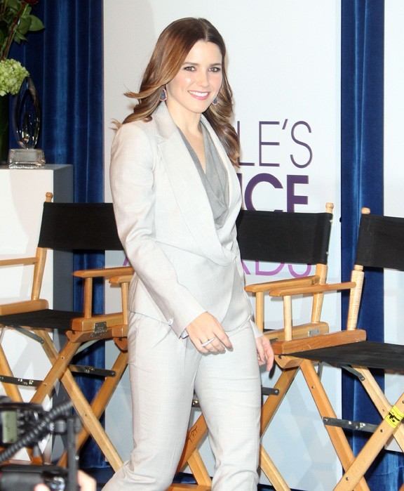 Sophia Bush à la conférence de presse des People's Choice Awards 2013 à Beverly Hills le 15 novembre 2012