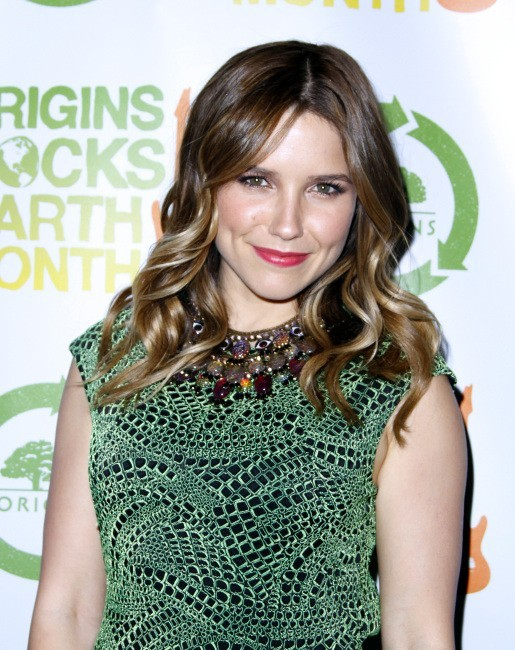 Sophia Bush lors du concert Origins Rocks Earth Month à New York, le 18 avril 2012.