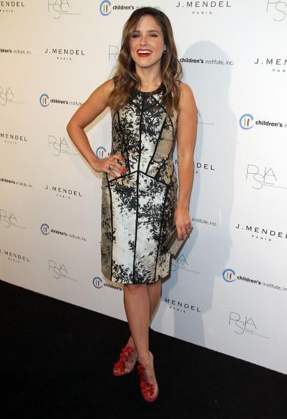 """Sophia Bush lors de la soirée """"2012 Autumn Party Benefiting Children's Institute"""" à Los angeles, le 17 octobre 2012."""