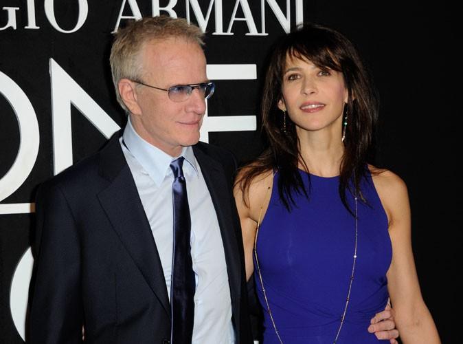 Sophie Marceau et Christophe Lambert : en mode love to love au défilé Armani !