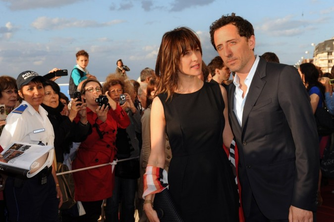 Gad Elmaleh et Sophie Marceau au Festival de Cabourg le 16 juin 2012