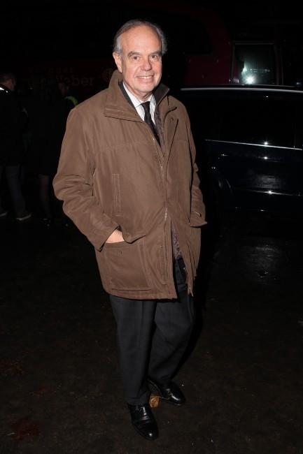 Frédéric Mitterrand à Paris pour la soirée Dior, le 12 novembre 2013.