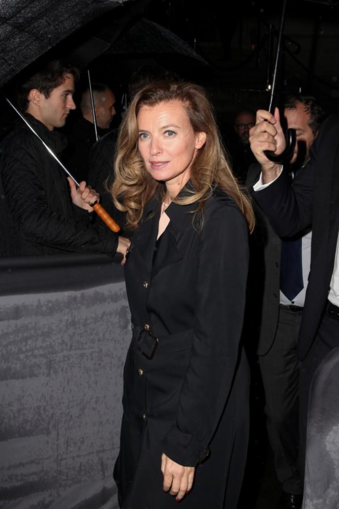 Valérie Trierweiler à Paris pour la soirée Dior, le 12 novembre 2013.