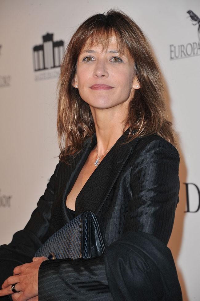 Sophie Marceau le 21 septembre 2012 à Saint-Denis
