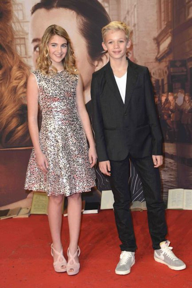 Sophie Nélisse et Nico Liersch !