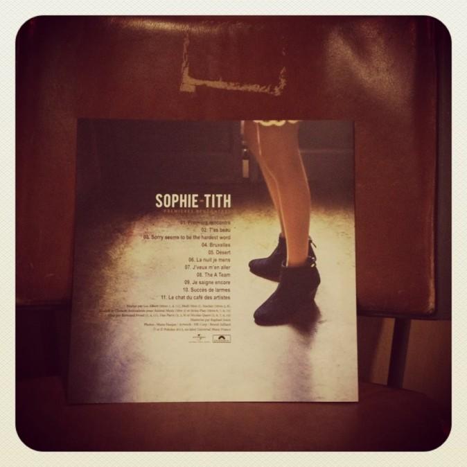 La tracklist de l'album