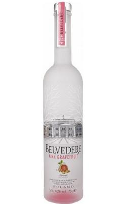 """Bouteille de vodka """"Pink Grapefruit"""" de Belvedere"""