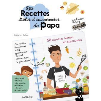 Le livre de recettes de Benjamin Buhot - Fnac