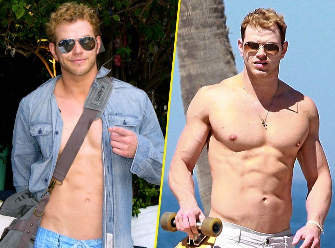 Photos : Kellan Lutz est de plus en plus sexy !