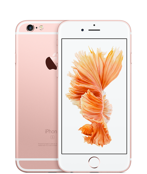 iPhone 6s Or rose