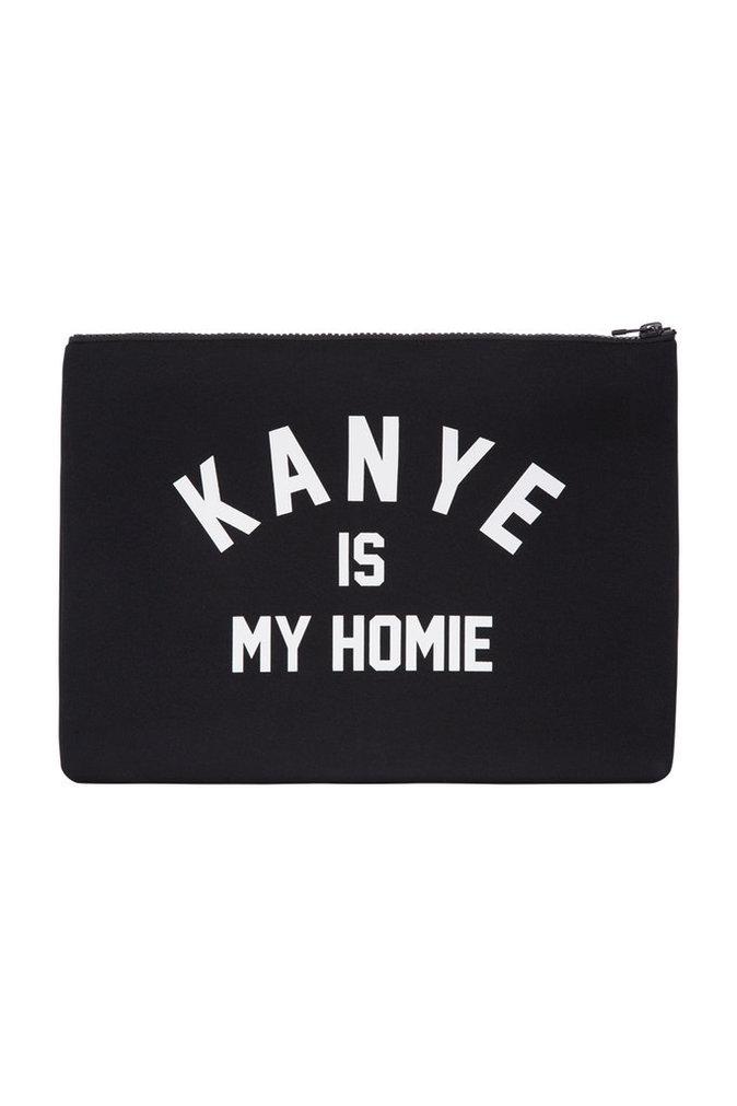 Pochette Kanye is my homie