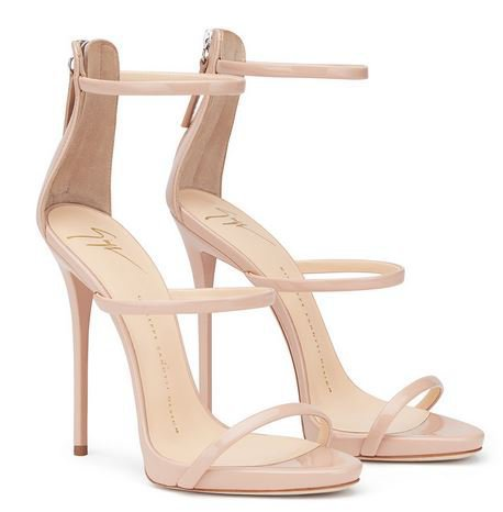 "Shoes : sandales nude ""Harmony"" by Giuseppe Zanotti"