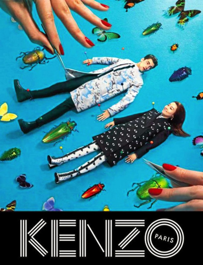 Campagne Kenzo automne hiver 2013-2014