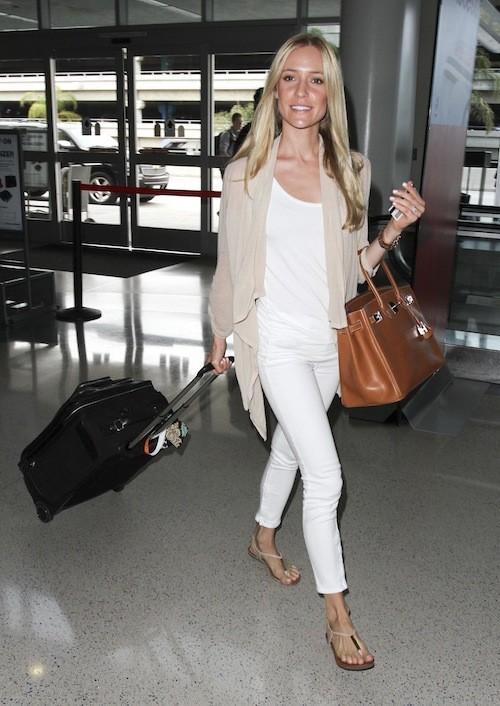 Kristin Cavallari à l'aeroport de LAX