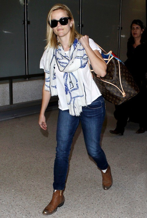 Reese Witherspoon à l'aéroport de Los Angeles