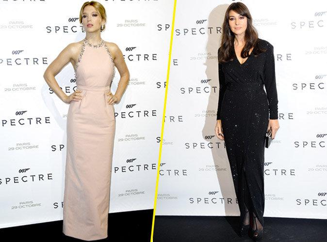 Spectre : L�a Seydoux et Monica Bellucci illuminent Paris !