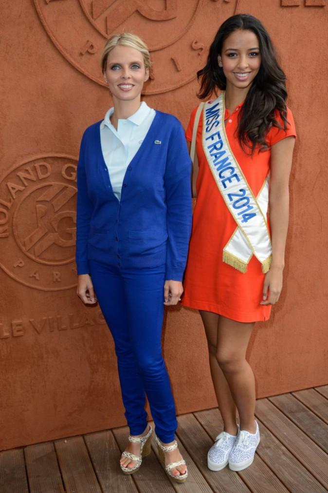 Sylvie-Tellier-et-Flora-Coquerel-a-Roland-Garros-le-3-juin-2014_portrait_w674.jpg (674×1011) | Miss | Pinterest