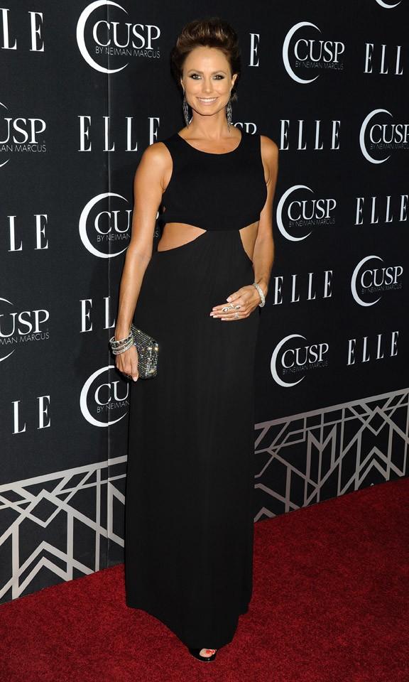 Stacy Keibler à la soirée Elle Women in Music Celebration organisée à Los Angeles le 22 avril 2014