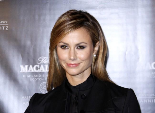 Stacy Keibler lors de la soirée The Macallan's New Masters of Photography Collection Launch à New York, le 10 octobre 2012.