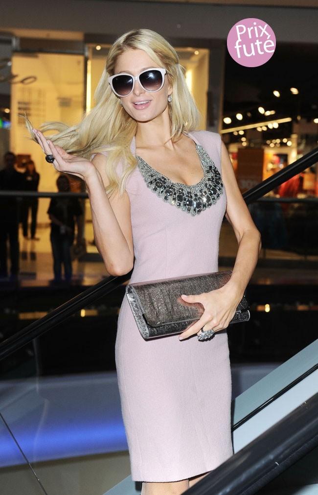 Paris Hilton ne trouve jamais chaussure à son pied...
