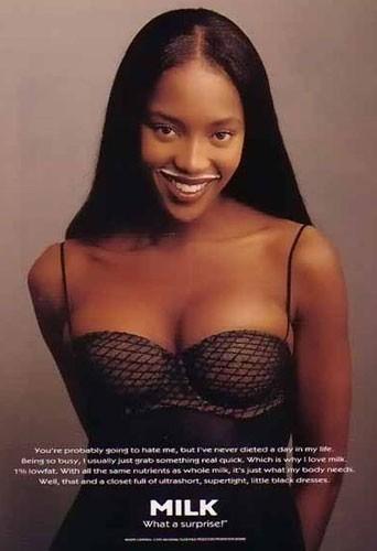 Naomi Campbell en 1995