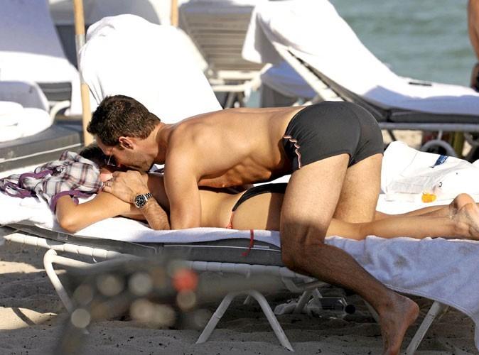 Photos : Becki Newton et son mari, y'a des hôtels pour ça !