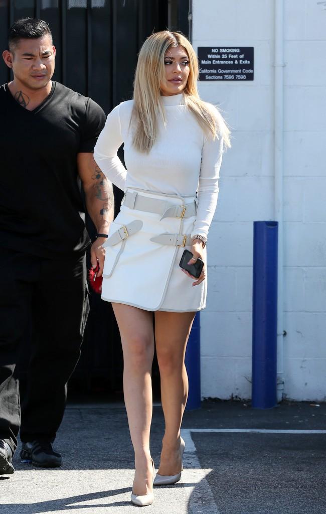 Kylie Jenner le 8 septembre 2015