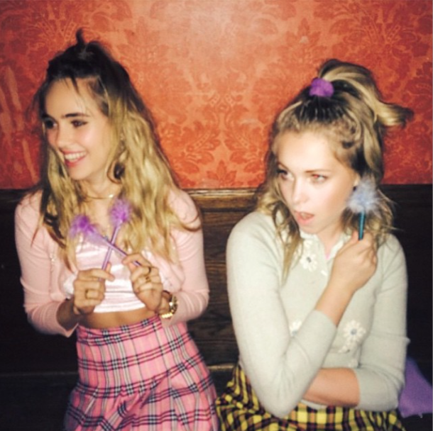 Photos : Suki Waterhouse : elle oublie sa rupture avec sa BFF Georgia May Jagger !