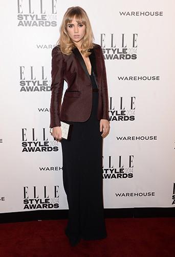 Suki Waterhouse à Londres le 18 février 2014