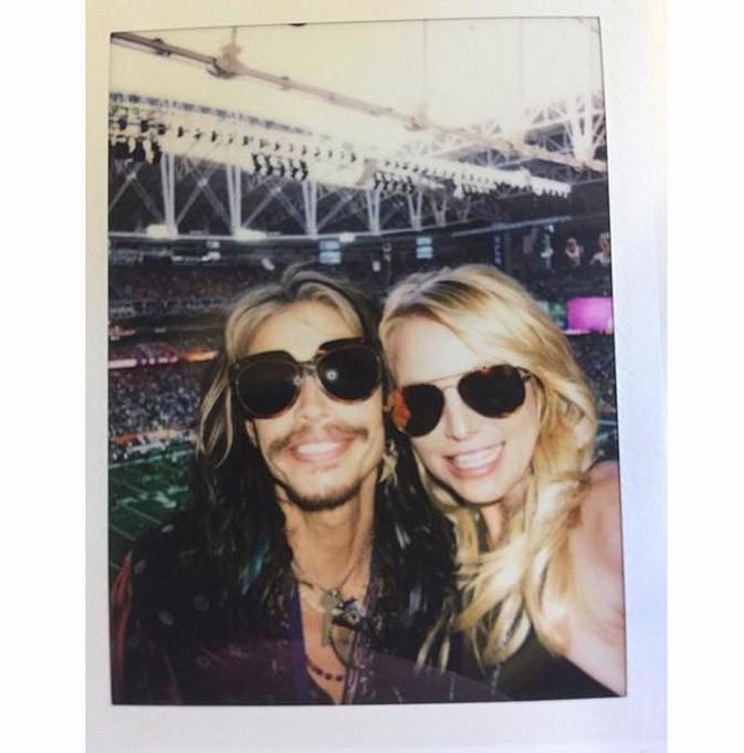 Steven Tyler et Britney Spears