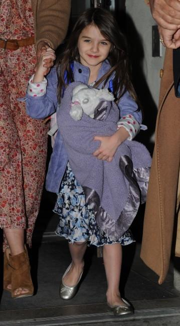 Suri Cruise est une vraie fashionista !