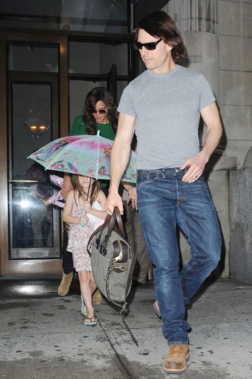 Son père Tom Cruise ne peut rien lui refuser !