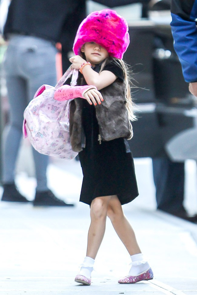 Suri Cruise à New-York le 18 septembre 2013