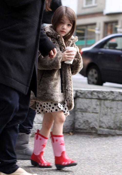 La fille de Katie Holmes a déjà la star-attitude !
