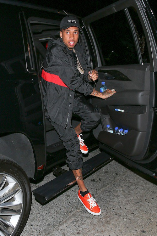 Tyga à Los Angeles, le 9 août 2015
