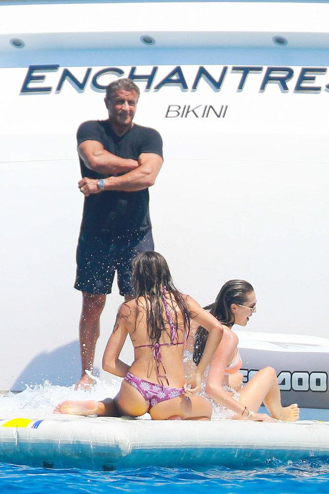 Sylvester Stallone a gêté ses 70 ans