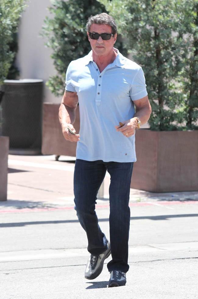 Sylvester Stallone le 1er juillet 2012 à Beverly Hills