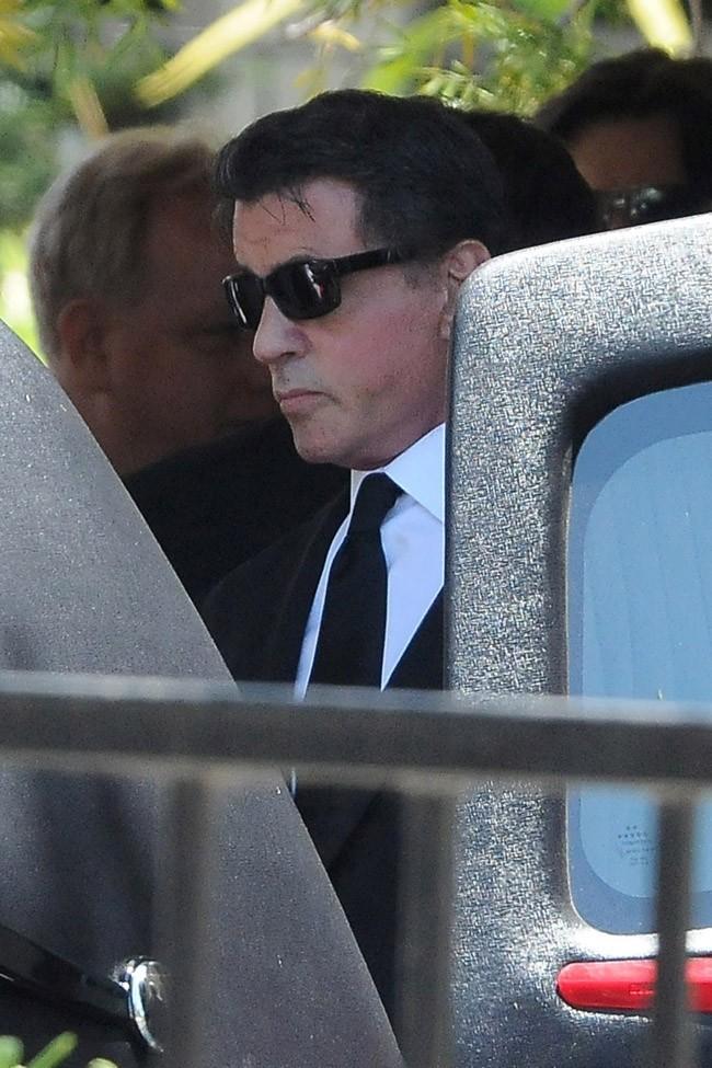 Sylvester Stallone le 21 juillet 2012 à Los Angeles