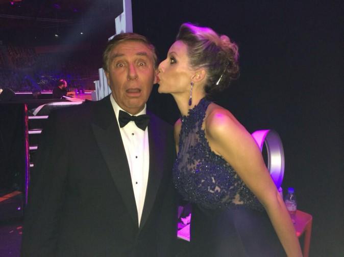 Sylvie Tellier à l'élection de Miss France 2014 à Dijon le 7 décembre 2013
