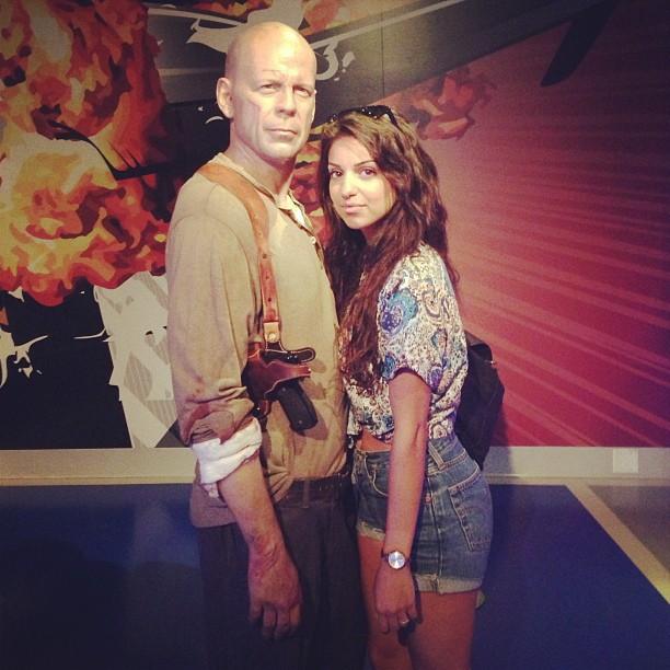Tal et Bruce Willis !