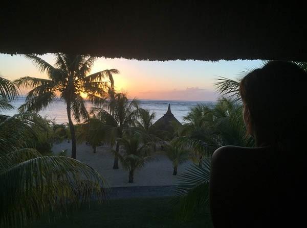 Tal en vacances à l'Île Maurice !