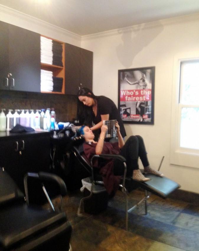 Photos : Tallulah Willis : après cinq heures chez le coiffeur, voilà le résultat !