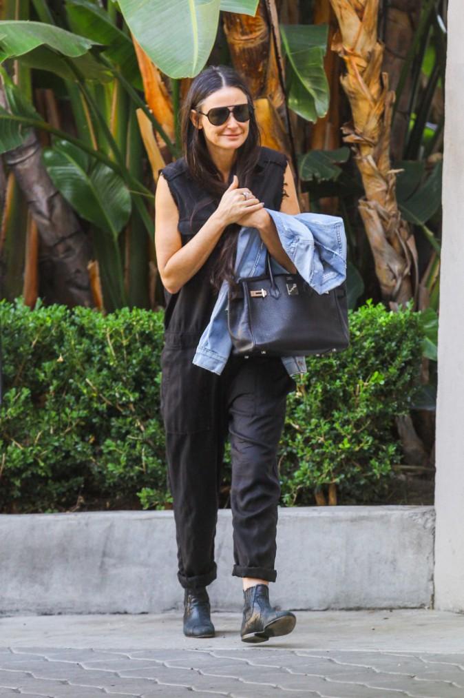 Demi Moore à Los Angeles le 23 novembre 2014