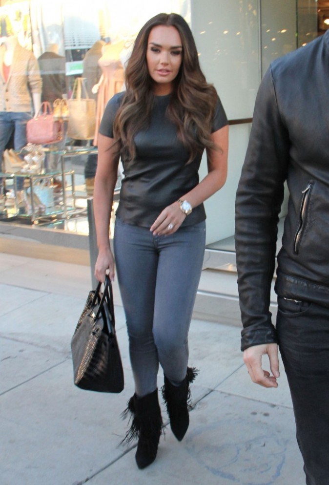 Tamara Ecclestone à West Hollywood, le 14 janvier 2013.