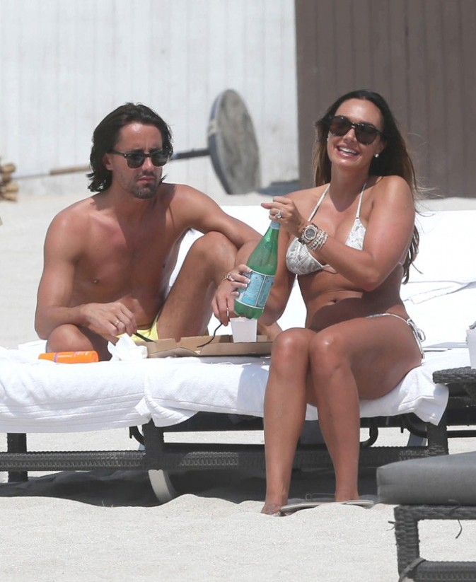 Tamara Ecclestone à Miami avec son fiancé le 12 mars 2013