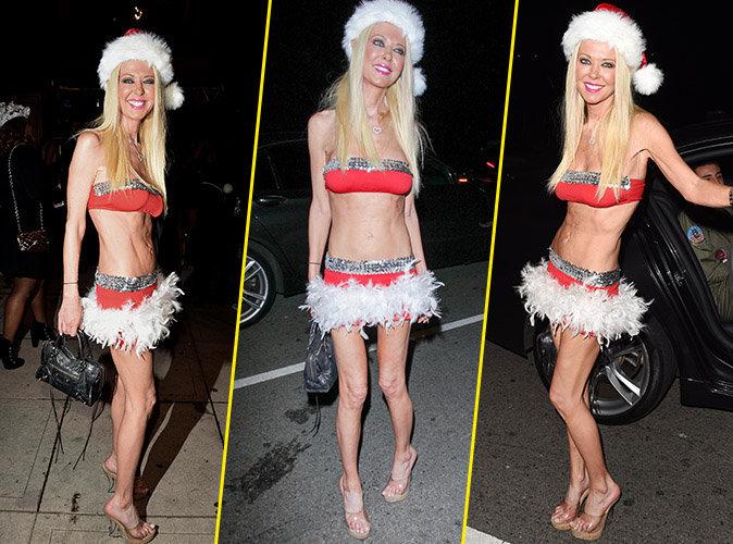 Tara Reid : D'une maigreur terrifiante pour Halloween !