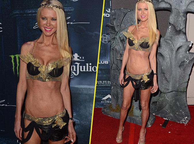 Tara Reid : Encore et toujours plus maigre, elle affiche son corps filiforme !