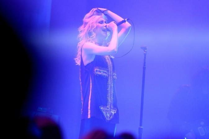Taylor Momsen en concert au Zénith de Paris avec les Pretty Reckless le 12 mars 2014